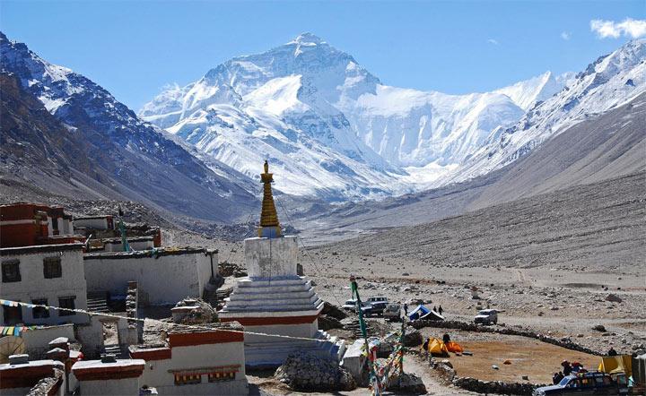 Самая высокая гора - Эверест