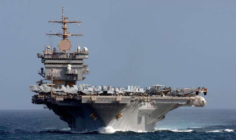 Самые большие военные корабли в мире