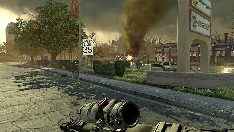 Игры с хорошим сюжетом: Call of Duty
