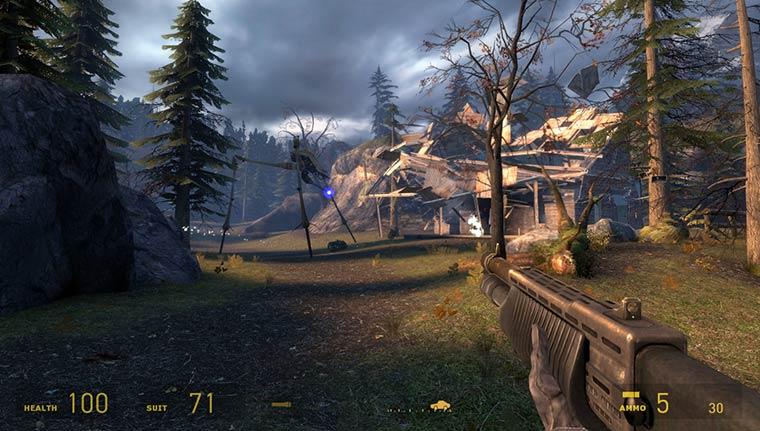 Игры с хорошим сюжетом: Half-Life 2