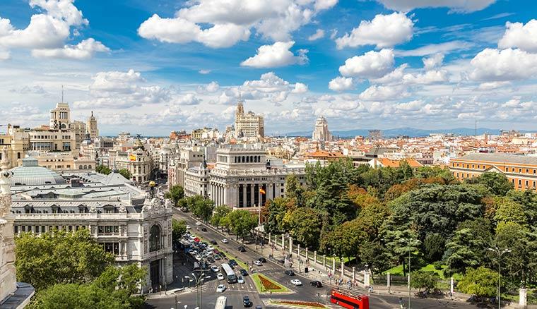 Города Испании: Мадрид