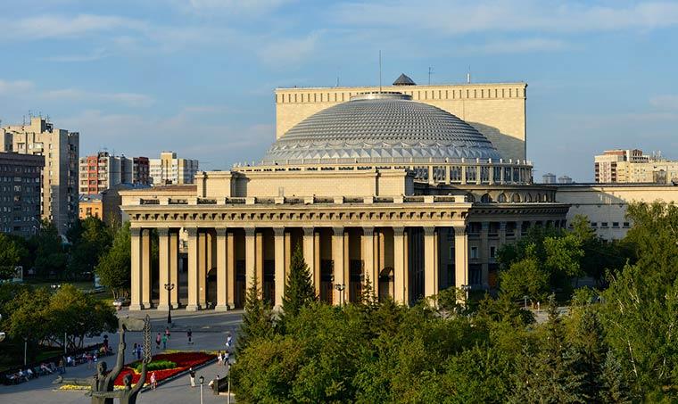 Театры России: Новосибирский театр оперы и балета