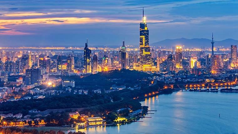 Лучшие города Китая: Нанкин