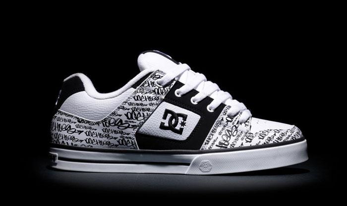 Лучшие фирмы обуви: DC