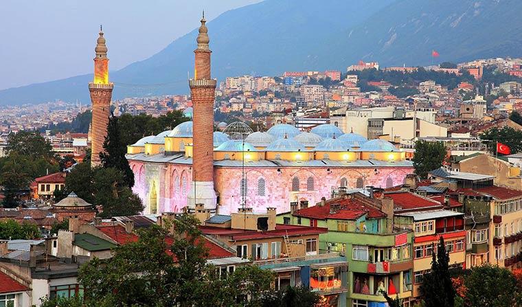 Лучшие города Турции: Бурса