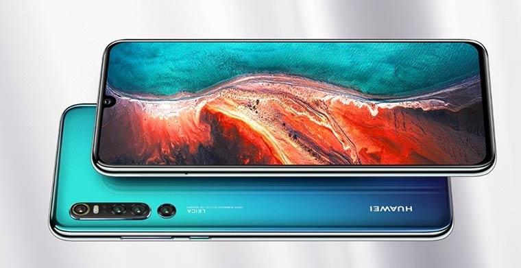 Смартфоны с отличной камерой: Huawei Р30 Pro