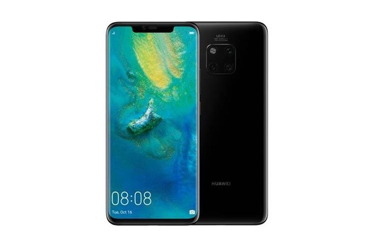 Смартфоны с отличной камерой: Huawei Mate 20 Pro