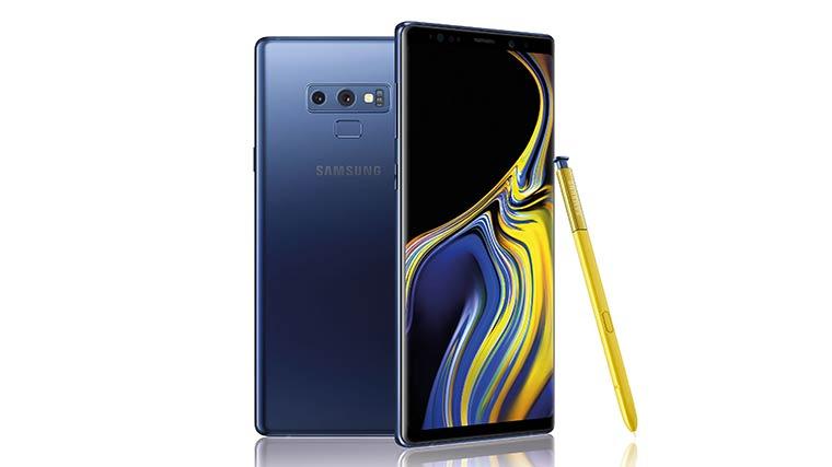 Смартфоны с отличной камерой: Samsung Galaxy Note 9