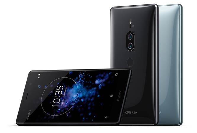 Смартфоны с отличной камерой: Sony Xperia XZ2