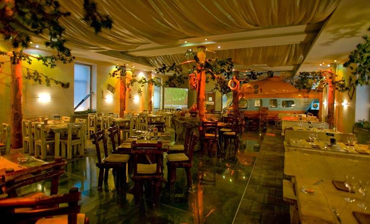 Самые необычные рестораны Москвы