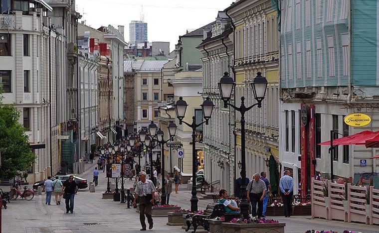 Cамые красивые улицы Москвы