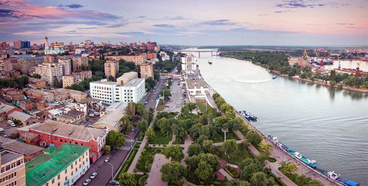Самые крупные города России по населению