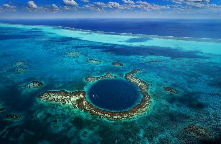 Самые красивые места планеты: Большая голубая дыра