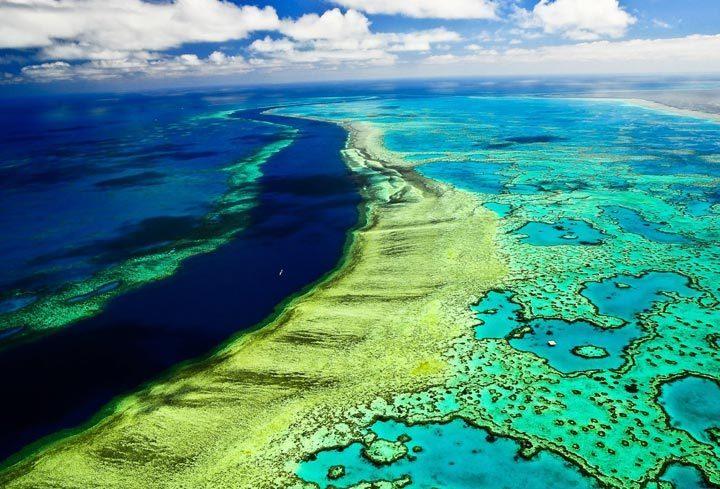 Самые красивые места на планете: Большой Барьерный Риф