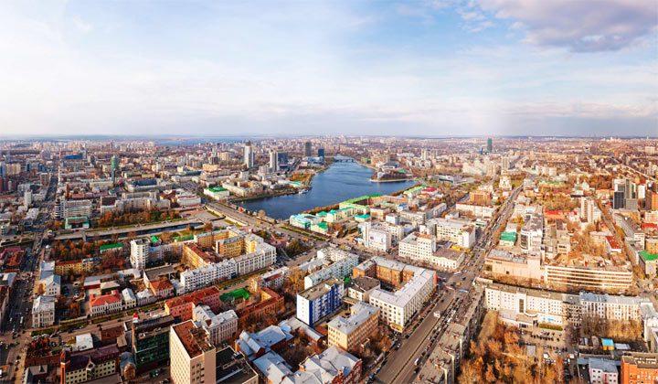 Самые населенные города России