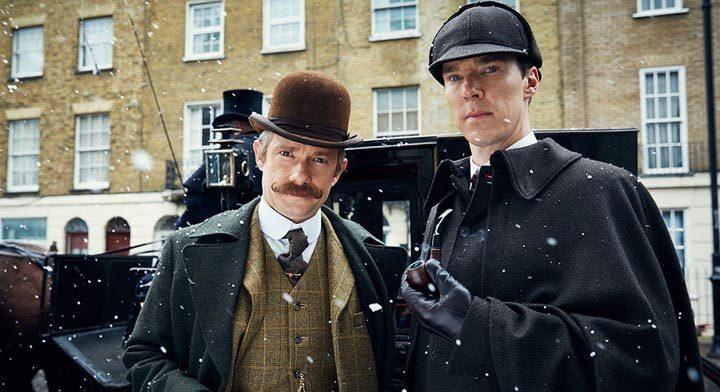 лучшие зарубежные детективные сериалы: Шерлок