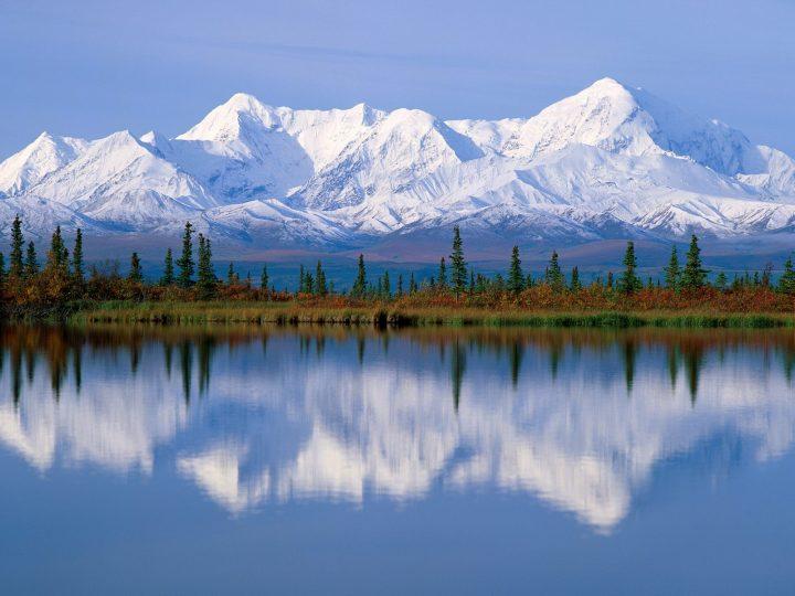 Высокая гора Денали