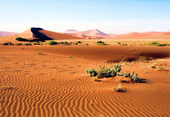 Красивый национальный парк Намиб-Науклуфт