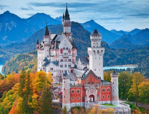 Топ 10 самые красивые замки в мире