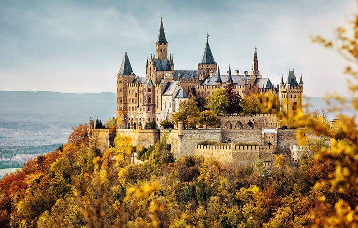 топ самых красивых замков