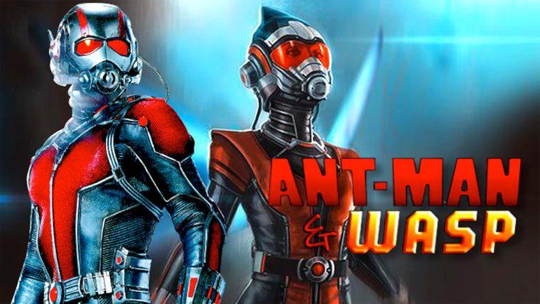 Человек-муравей и Оса
