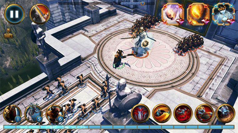 Отличная игра для Андроид: Olympus Rising