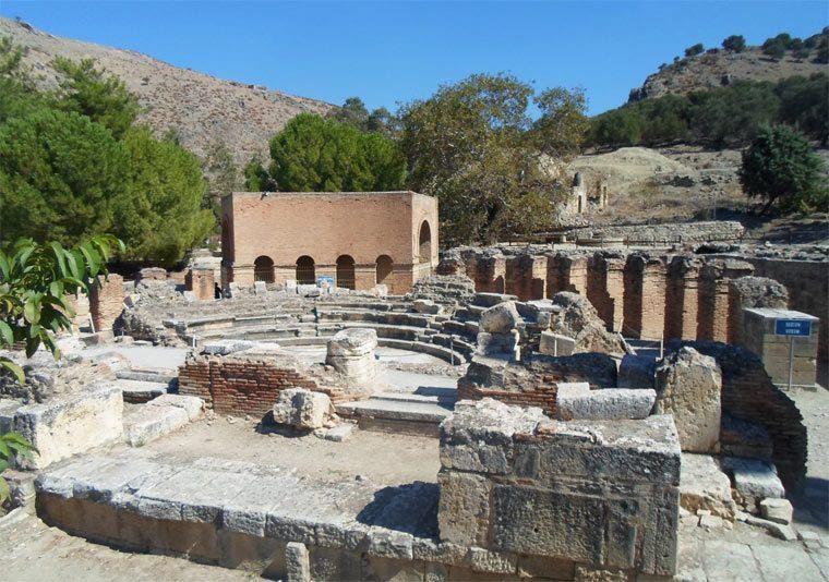 Достопримечательности Крита: Гортина