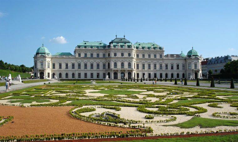 Лучшие достопримечательности Вены: Бельведер