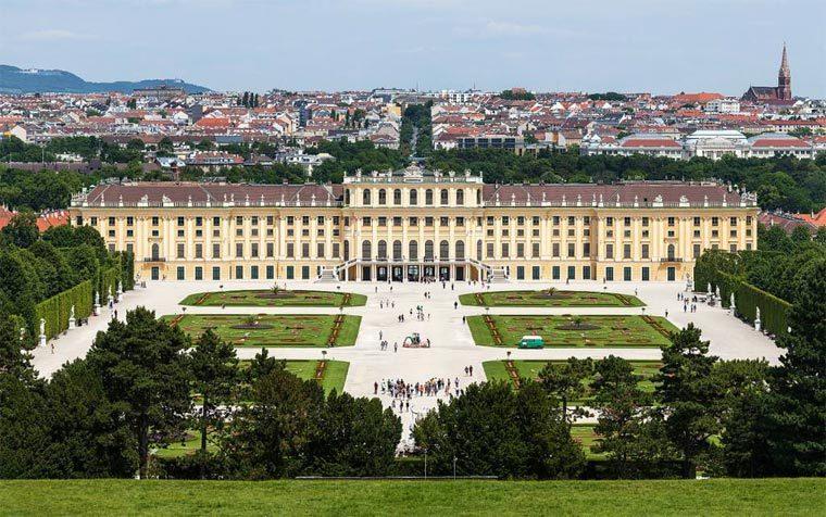 Достопримечательности Вены: Дворец Шенбрунн