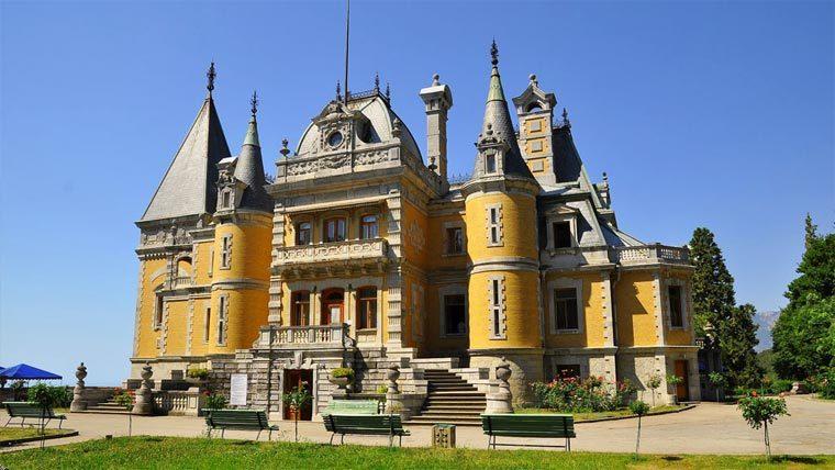 Достопримечательности Крыма: Массандровский дворец