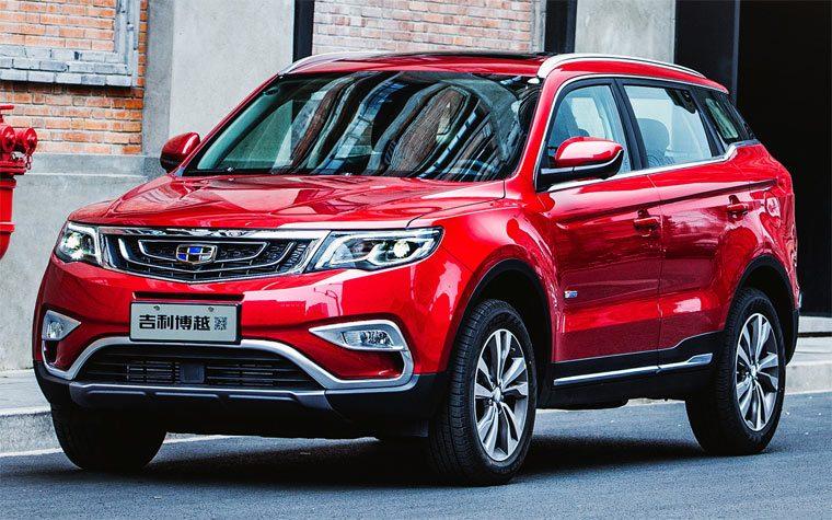 Лучшие китайские легковые автомобили