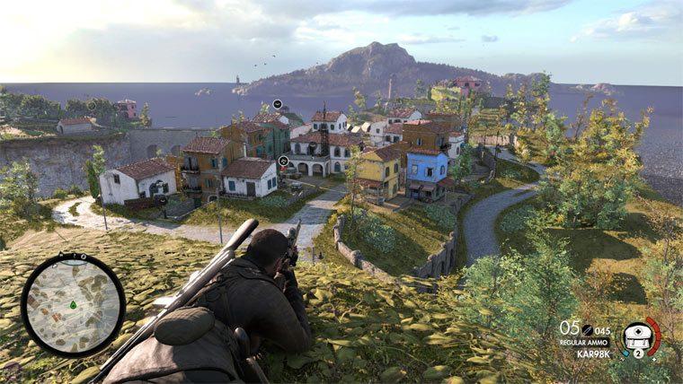 Игра Sniper Elite 4