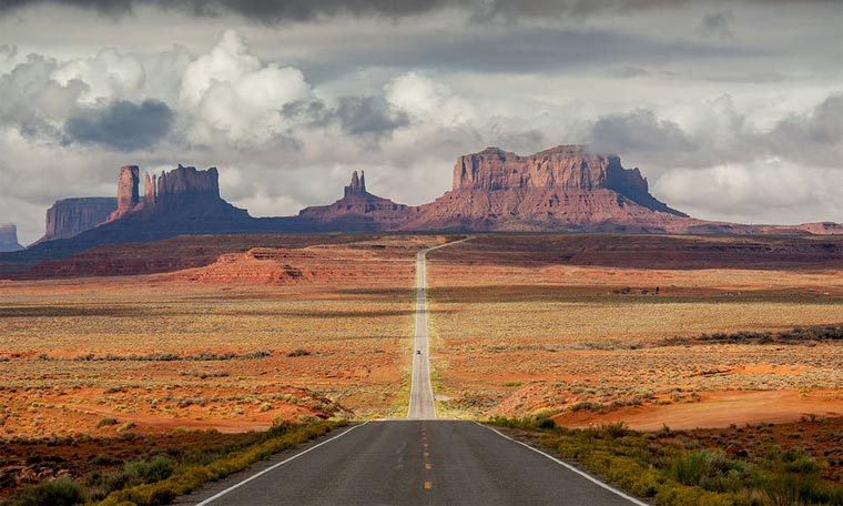 Самые красивые дороги в мире