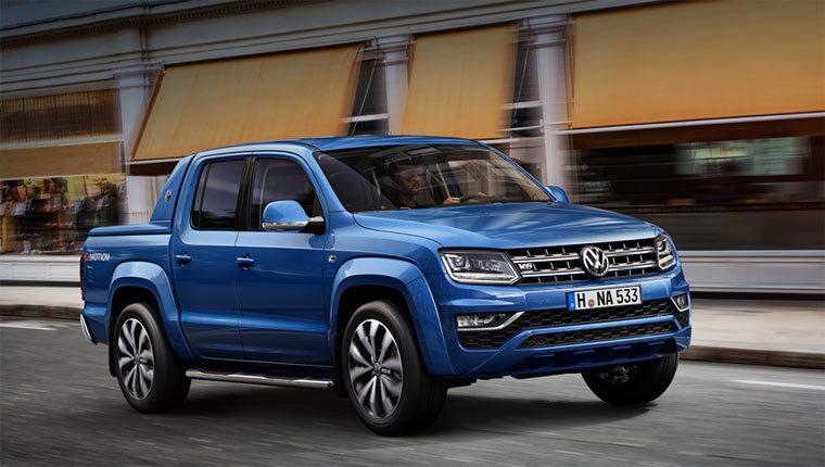 Лучшие пикапы: Volkswagen Amarok