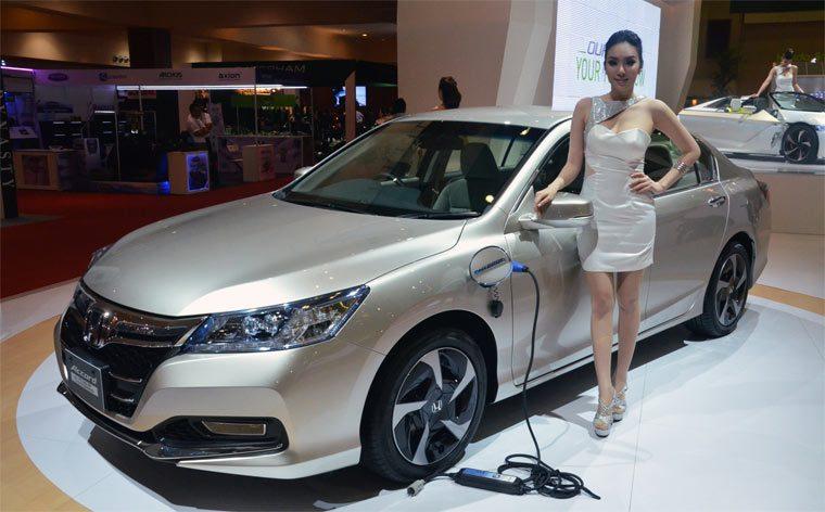Лучшие электромобили: Honda
