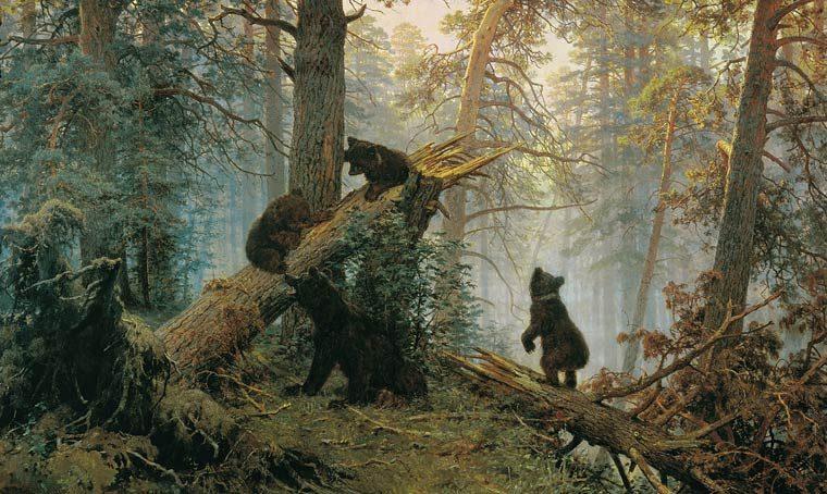 Известная картина русской природы