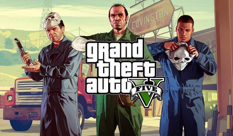 Лучшие игры на PS4 - GTA V