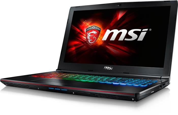 MSI GE72 6QE Apache Pro