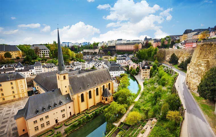 Богатая страна - Люксембург